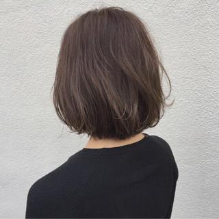 ナチュラル ワンカール 切りっぱなし 大人女子 ヘアスタイルや髪型の写真・画像