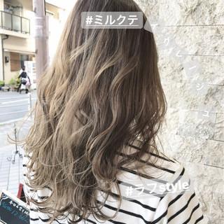 透明感 抜け感 大人かわいい ナチュラル ヘアスタイルや髪型の写真・画像 ヘアスタイルや髪型の写真・画像