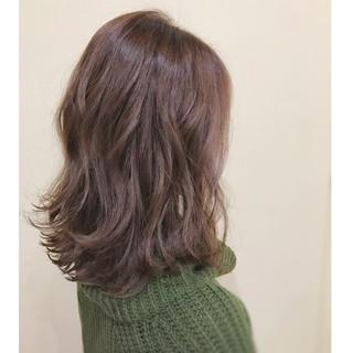 ミディアム 大人女子 ナチュラル 春 ヘアスタイルや髪型の写真・画像