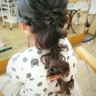 暗髪 くせ毛風 ショート ヘアアレンジ ヘアスタイルや髪型の写真・画像 ヘアスタイルや髪型の写真・画像