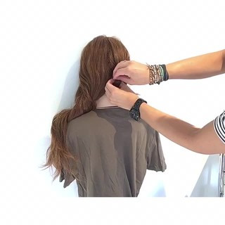 色気 デート アウトドア 涼しげ ヘアスタイルや髪型の写真・画像