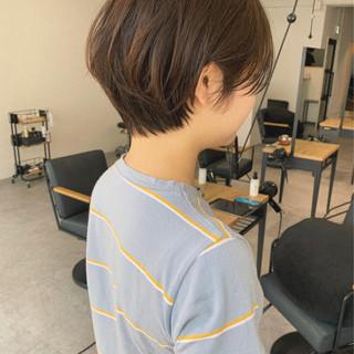 ナチュラル デート 黒髪 スポーツ ヘアスタイルや髪型の写真・画像