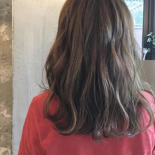 ヘアアレンジ リラックス 女子会 ミディアム ヘアスタイルや髪型の写真・画像