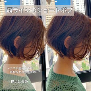ショートヘア ナチュラル スタイリング動画 簡単スタイリング ヘアスタイルや髪型の写真・画像