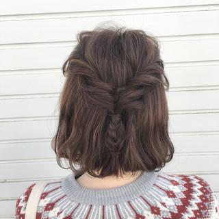 ヘアアレンジ ストリート 編み込み 簡単ヘアアレンジ ヘアスタイルや髪型の写真・画像 ヘアスタイルや髪型の写真・画像