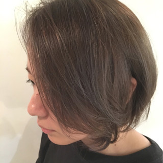 色気 ハイライト アッシュ 外国人風 ヘアスタイルや髪型の写真・画像