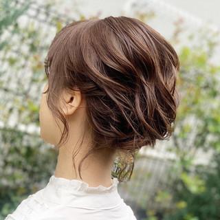 夜会巻 ヘアアレンジ アンニュイほつれヘア ナチュラル ヘアスタイルや髪型の写真・画像 ヘアスタイルや髪型の写真・画像