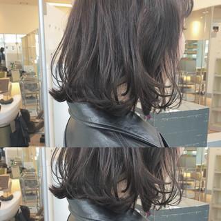 無造作 大人かわいい ボブ ストリート ヘアスタイルや髪型の写真・画像
