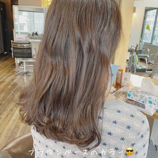 ミディアム ミディアムヘアー セミディ 圧倒的透明感 ヘアスタイルや髪型の写真・画像