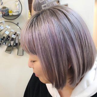 グラデーションカラー ユニコーンカラー バレイヤージュ インナーカラー ヘアスタイルや髪型の写真・画像