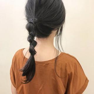 夏 簡単ヘアアレンジ 大人かわいい 涼しげ ヘアスタイルや髪型の写真・画像