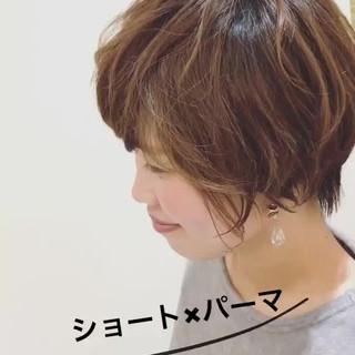 小顔 マッシュ 似合わせ ショート ヘアスタイルや髪型の写真・画像 ヘアスタイルや髪型の写真・画像