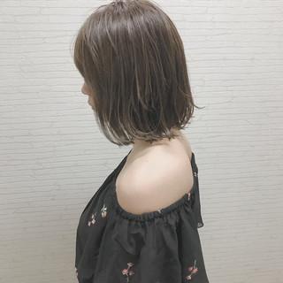 外国人風 デート 外ハネ 外国人風カラー ヘアスタイルや髪型の写真・画像