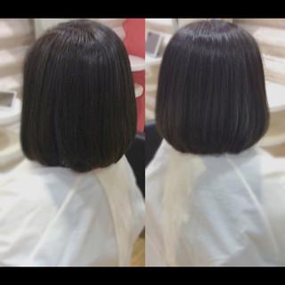髪質改善 艶髪 髪質改善トリートメント 髪質改善カラー ヘアスタイルや髪型の写真・画像