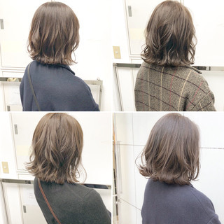 ヘアアレンジ ナチュラル パーマ アンニュイほつれヘア ヘアスタイルや髪型の写真・画像