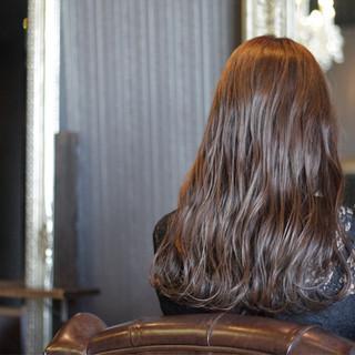 大人かわいい セミロング ストリート モテ髪 ヘアスタイルや髪型の写真・画像 ヘアスタイルや髪型の写真・画像