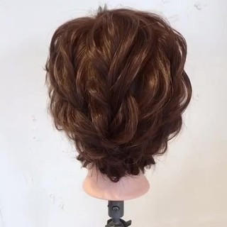 ヘアアレンジ パーティ ナチュラル ゆるふわ ヘアスタイルや髪型の写真・画像