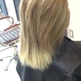 内巻き ワンカール 透明感 秋 ヘアスタイルや髪型の写真・画像