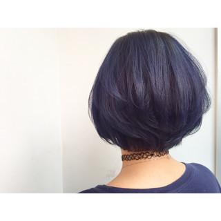 ブルー ネイビー ストリート ブルージュ ヘアスタイルや髪型の写真・画像
