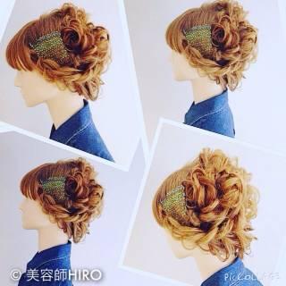 ナチュラル 大人かわいい ヘアアレンジ モテ髪 ヘアスタイルや髪型の写真・画像