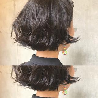 ボブ 簡単ヘアアレンジ ヘアアレンジ モード ヘアスタイルや髪型の写真・画像