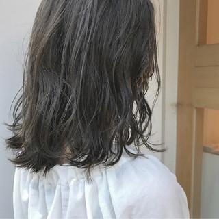 ハイライト 透明感 秋 ボブ ヘアスタイルや髪型の写真・画像