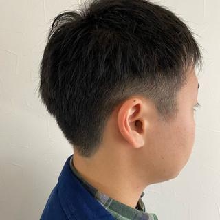 ベリーショート ショートヘア ショート メンズショート ヘアスタイルや髪型の写真・画像