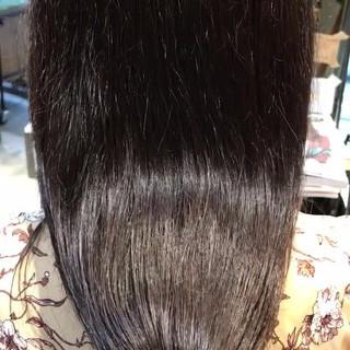 ナチュラル 秋冬スタイル ミルクティーブラウン 透明感カラー ヘアスタイルや髪型の写真・画像