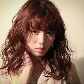 フェミニン ゆるふわ 外国人風 大人かわいい ヘアスタイルや髪型の写真・画像