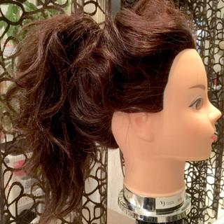 ウェーブ コンサバ ロング ショート ヘアスタイルや髪型の写真・画像