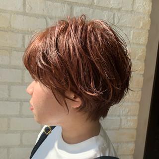 大人かわいい 簡単ヘアアレンジ ショート ナチュラル ヘアスタイルや髪型の写真・画像