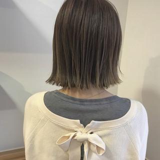秋 ロブ 透明感 ボブ ヘアスタイルや髪型の写真・画像