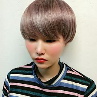 ボブ 外国人風 ショート モード ヘアスタイルや髪型の写真・画像 ヘアスタイルや髪型の写真・画像