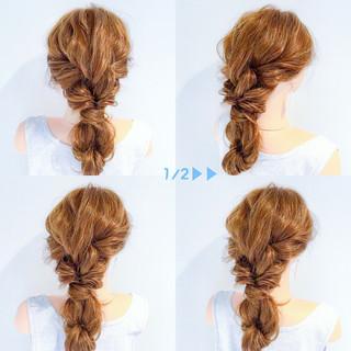 エレガント 上品 女子会 簡単ヘアアレンジ ヘアスタイルや髪型の写真・画像 ヘアスタイルや髪型の写真・画像