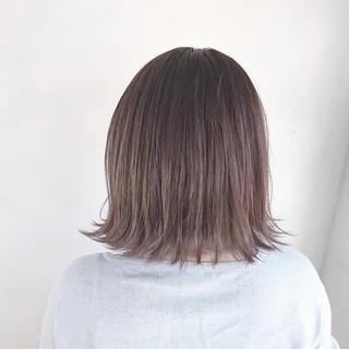 ラベンダーアッシュ 透明感 ガーリー 外国人風 ヘアスタイルや髪型の写真・画像 ヘアスタイルや髪型の写真・画像