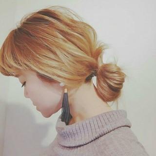 ナチュラル ゆるふわ 大人かわいい 冬 ヘアスタイルや髪型の写真・画像