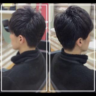 大人ヘアスタイル ショートヘア ナチュラル ベリーショート ヘアスタイルや髪型の写真・画像