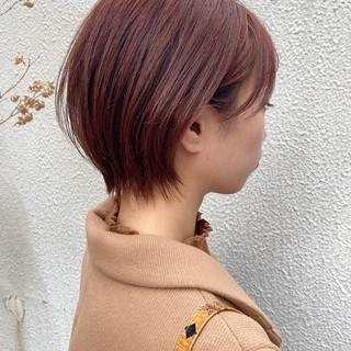 マッシュショート ナチュラル ショートヘア ショートボブ ヘアスタイルや髪型の写真・画像