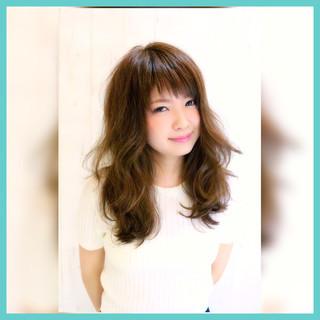 ガーリー 外国人風 アッシュ 大人かわいい ヘアスタイルや髪型の写真・画像