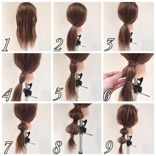 ヘアアレンジは簡単アップのまとめ髪で!ロングやミディアムのやり方