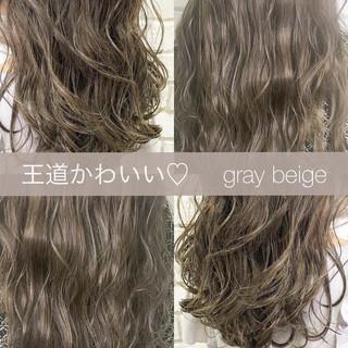 ロング ブランジュ モテ髪 コンサバ ヘアスタイルや髪型の写真・画像