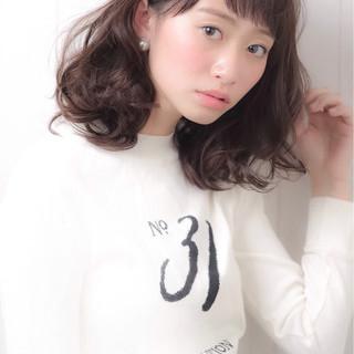 ナチュラル 春 艶髪 パーマ ヘアスタイルや髪型の写真・画像