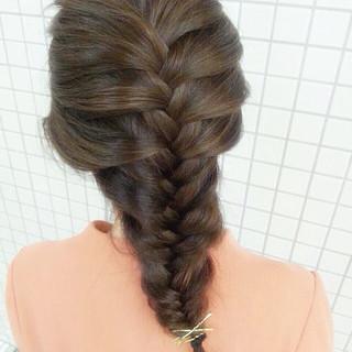 ショート ヘアアレンジ 編み込み 簡単ヘアアレンジ ヘアスタイルや髪型の写真・画像 ヘアスタイルや髪型の写真・画像