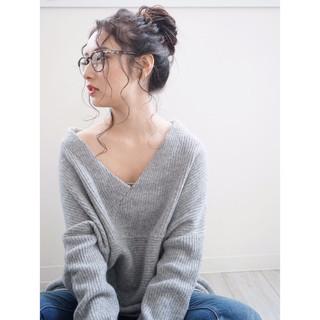 大人女子 ロング 外国人風 簡単ヘアアレンジ ヘアスタイルや髪型の写真・画像