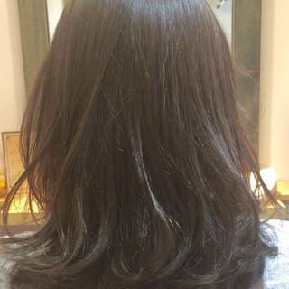 外国人風 ガーリー ハイライト グラデーションカラー ヘアスタイルや髪型の写真・画像