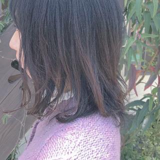 オフィス 就活 外ハネ ミディアム ヘアスタイルや髪型の写真・画像 ヘアスタイルや髪型の写真・画像