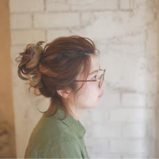 ミディアム 夏 くせ毛風 ゆるふわ ヘアスタイルや髪型の写真・画像