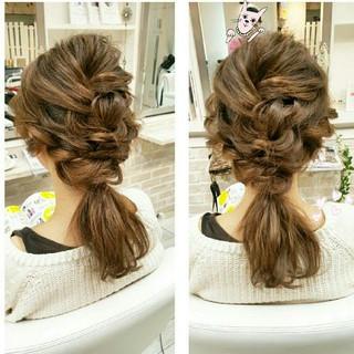 ガーリー ショート 簡単ヘアアレンジ ヘアアレンジ ヘアスタイルや髪型の写真・画像 ヘアスタイルや髪型の写真・画像