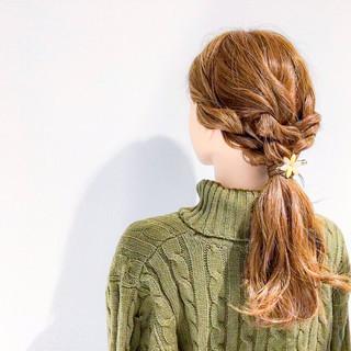 デート アウトドア 上品 エレガント ヘアスタイルや髪型の写真・画像