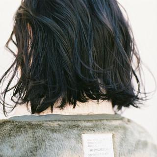 暗髪 ナチュラル 外ハネ スポーツ ヘアスタイルや髪型の写真・画像